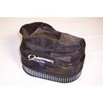 "Outerwear Pre-Filter, 4.5"" X 7"" Oval, 3.5"" Tall, Black"