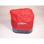 "Outerwear Pre-Filter, 4.5"" X 7"" Oval, 6"" Tall, Red"