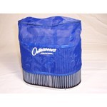 "Outerwear Pre-Filter, 4.5"" X 7"" Oval, 6"" Tall, Blue"