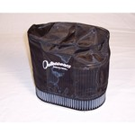 "Outerwear Pre-Filter, 4.5"" X 7"" Oval, 6"" Tall, Black"