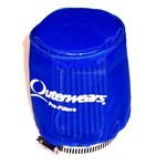 "Outerwear Pre-Filter, 3.5"" To 3"" Taper, 4"" Tall, Blue"