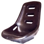 Low Back Poly Seat Shell