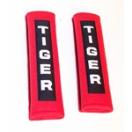 """Shoulder Pads For Seat Belts, Red, For 2"""" Wide Belts, Pair"""