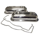 VALVE COVERS, Stainless Clip On, Fits 1500cc & Up VW