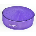 "Outerwear Pre-Filter, 14"" Round, 6"" Tall, Purple"
