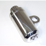 "Radiator Overflow Tank, 1-1/2"" Clamp On"
