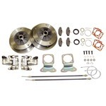 Disc Brake Kit, 5 On 205, With Emergency Brakes, 58-67 Swing