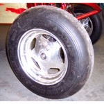 "6.8 Extreme Front Sand Tire, 28"" Tall, 6.8"" Wide, Smooth"