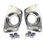 Stainless Torsion Cap, Irs, With Hole, Pair