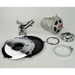 Chrome Alternator Kit Conversion Kit, 55 Amp, For Type 1 VW