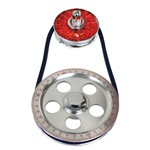 Degree Crank Pulley Kit, Red Letters, Standard Diameter