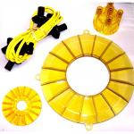 Engine Color Kit, Yellow, For Aircooled VW