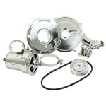 Deluxe Chrome Alternator Conversion Kit 75 Amp, For Type 1