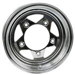 "15 X 7"" Steel Rim, Series 86, 5 On 205mm, 3-1/2"" Backspacing"