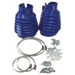 Swing Axle Boot, Blue, For Beetle & Ghia 48-68, Pair
