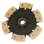 228Mm Clutch Disc, 18 Spline Hemi, 6 Puck
