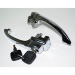 Outer Door Handles, With Keys, For Beetle 60-64