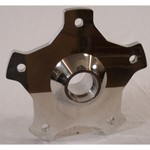 Billet Front Hub, For Combo Spindle, 5 On 205mm