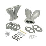 Dual Carbs Intake Manifolds, For Weber IDF & HPMX, Deluxe