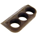 3 Hole Gauge Flex Mount, For 2-1/16