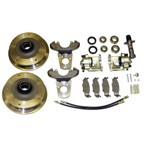Disc Brake Kit, Zero Offset, 5 on 205mm, Ball Joint 68-74