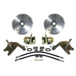 Drop Spindle Disc Brake Kit, 5 on 205mm, For King Pin 59-65