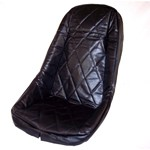 Low Back Cover, Diamond, Fits Fiberglass & Impact Seat Shell