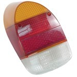 Tail Light Lens, Left Or Right Side, For Beetle 68-70, Euro