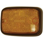 Side Marker Lens, For Bus 75-79, Yellow/Black
