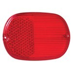 Tail Light Lens, Left Or Right Side, For Bus 61-72