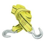 Tow Strap, Hook Style, 8000 Pound, 15 Foot Long