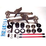 TRAILING ARM KIT, 3x3 Arms, 930 CV Joints, For 091 Bus Trans