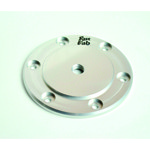 Billet Oil Sump Drain Plate, Silver, Fits All Aircooled VW