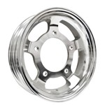 "15 X 4"" Forged Aluminum Rim, 5 On 205mm, 1-3/4"" Backspacing"