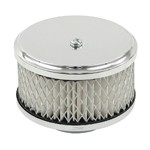 "Air Cleaner Assemlbly, 4"" Diameter, 3"" Tall, 2-5/8"" Inlet"