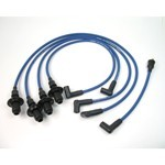 Pertronix 8Mm Spark Plug Wires, Blue, For HEI Style Caps