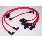 Pertronix 8mm Spark Plug Wires, Red, For HEI Style Caps