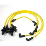 Pertronix 8mm Spark Plug Wires, Yellow, For HEI Style Caps
