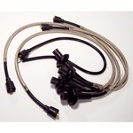 Braided Stainless Spark Plug Wires, 8mm For Type 1 VW