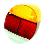 Tail Light Lens, Left Side, For Beetle 73-79, Euro