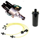Ripper Jr. Ignition Kit, With Point Style Distributor Yellow