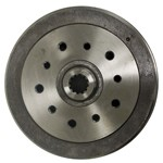 Rear Brake Drum, Chevy 4-3/4, For Long Spline Axles
