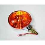"4"" Rear Tail Light, Dual Function, Amber, Each"