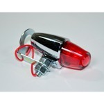BULLET TAIL LIGHT, Red, Sold Ech