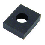 Rubber Pad Body Mount, 10mm Lower For Beetle 53-77 Each