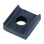 RUBBER PAD BODY MOUNT, Upper For Beetle 53-77, Each