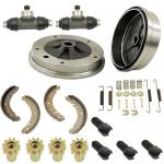 Rear Brake Rebuild Kit, Beetle 58-64, Swing Axle Suspension.