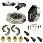 Rear Brake Rebuild Kit, Beetle 65-66 Swing Axle Suspension