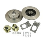 Disc Brake Kit, 5 On 4-3/4 Chevy, For Ball Joint 68-79
