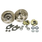 Disc Brake Kit, 5 On 4-3/4 Chevy, For King Pin 56-65